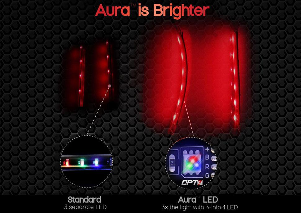aura motorcycle led glow kit