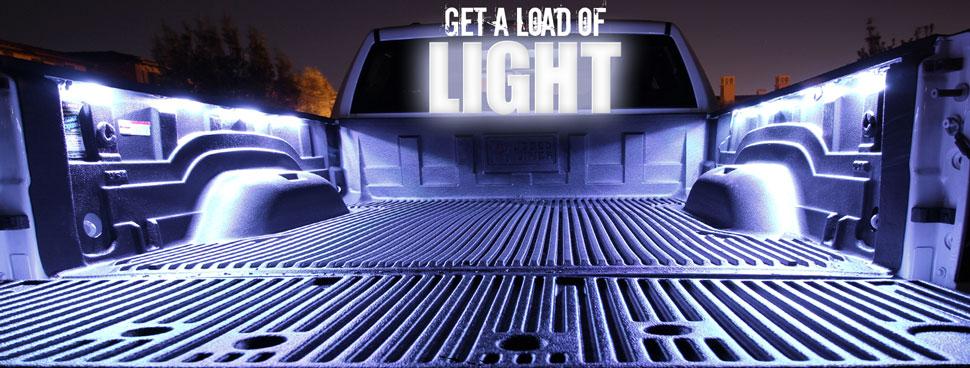 aura truck-bed led lighting