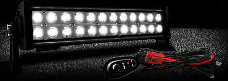 led bar off-road harness switch