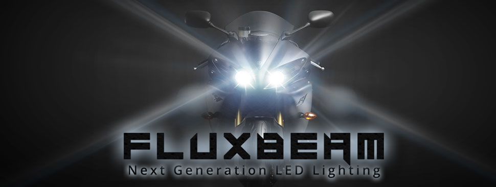 fluxbeam motorcycle led headlight