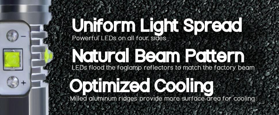 cree led fog light bulbs