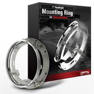 7-Inch LED DayMaker Headlight Mounting Ring Bracket for Harley Davidsons