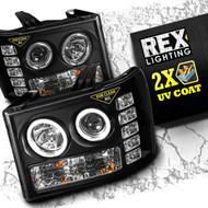 2007 2008 2009 2010 2011 2012 2013 gmc sierra 1500 3500 headlight rex lighting