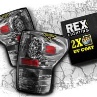 2007 2008 2009 2010 2011 2012 2013 toyota tundra led tail lights chrome rex lighting