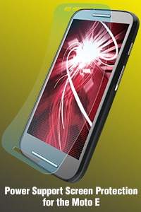 Screen protection for the Moto E
