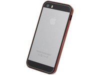 Flat Bumper Metallic Red for iPhone SE 5s/5