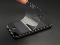 Shock-absorbing Crystal Film for iPhone 4/4s