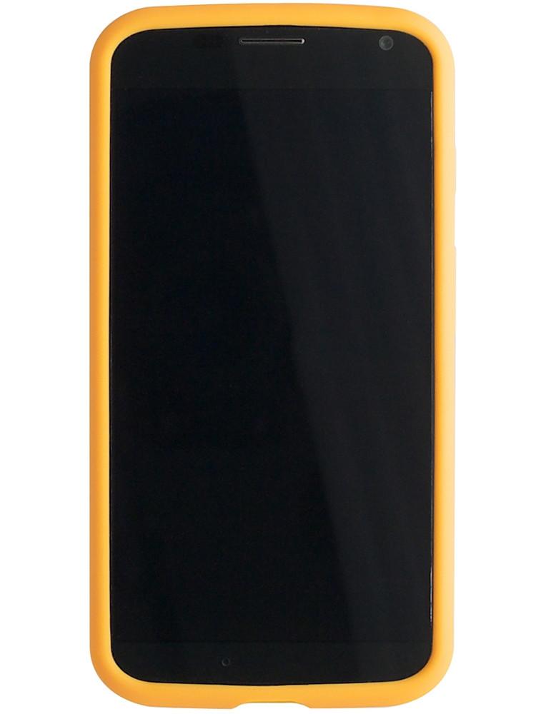 Grip for Moto X, front, orange