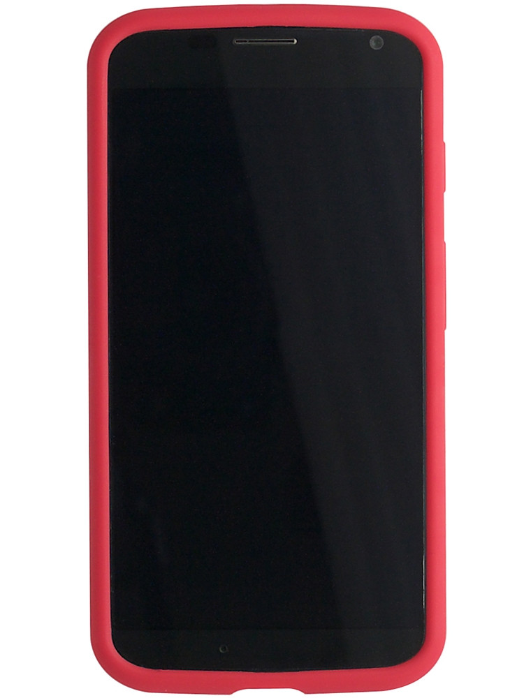 Grip for Moto X, front, red