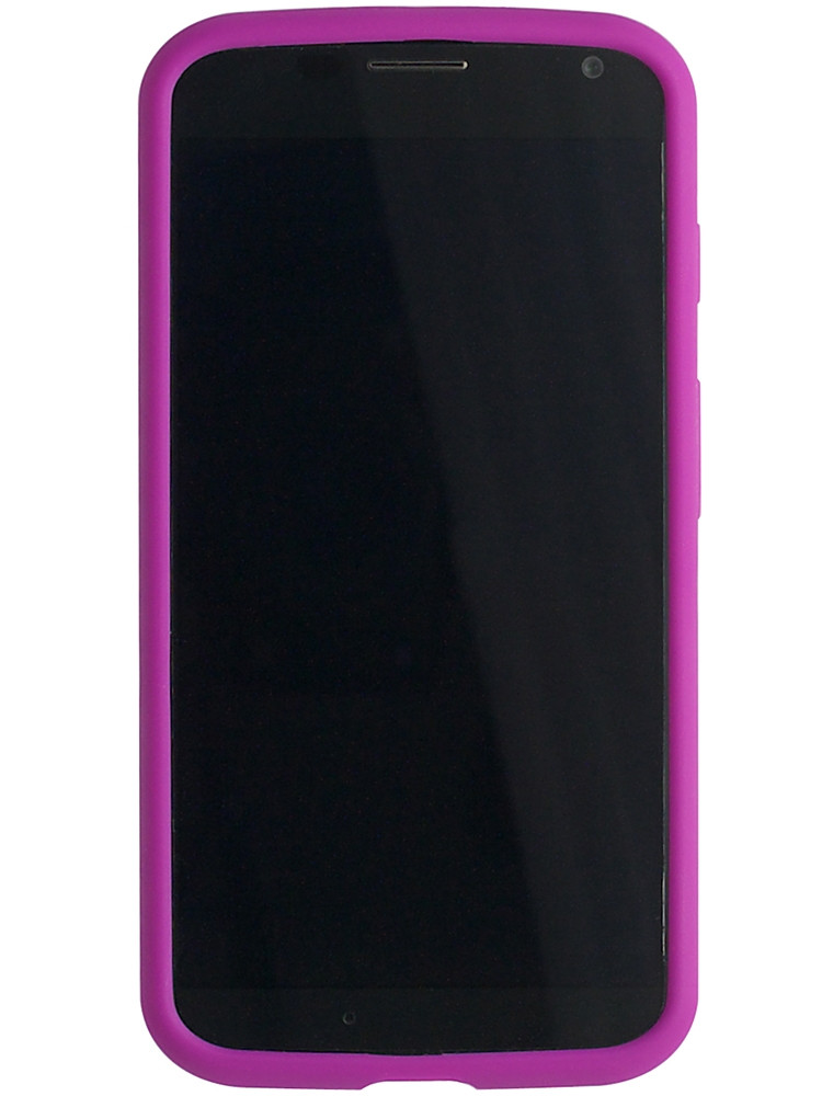 Grip for Moto X, front, violet