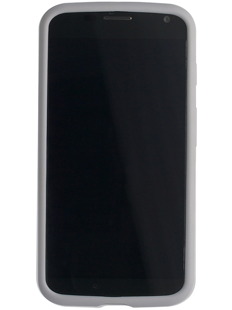 Grip for Moto X, front, grey