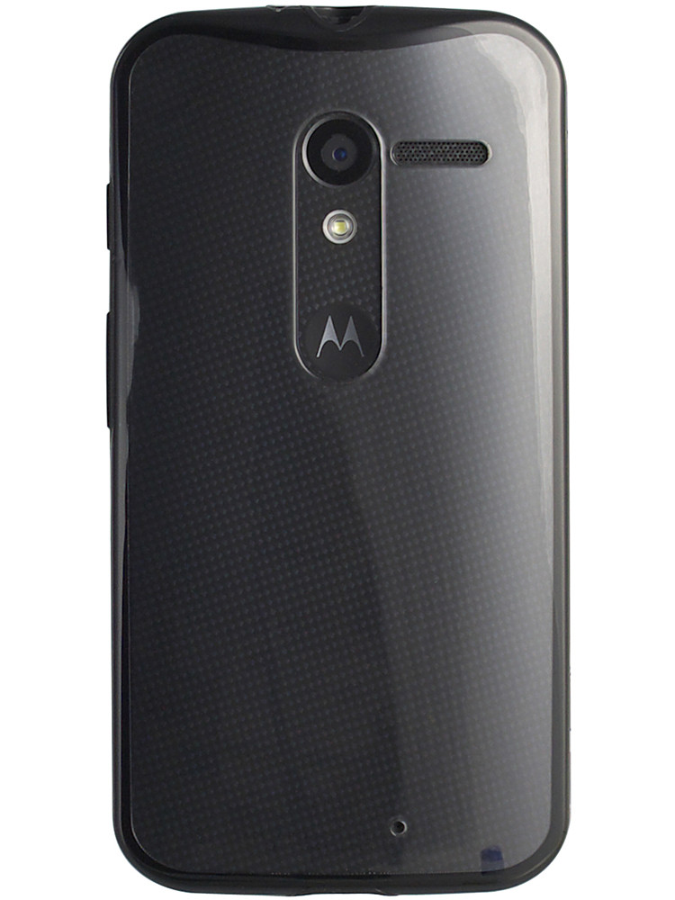 Grip for Moto X, back, black