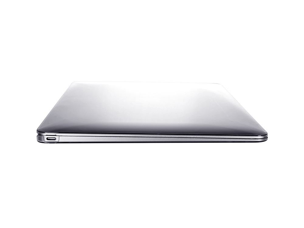 "Air Jacket Clear for MacBook 12"" left side"