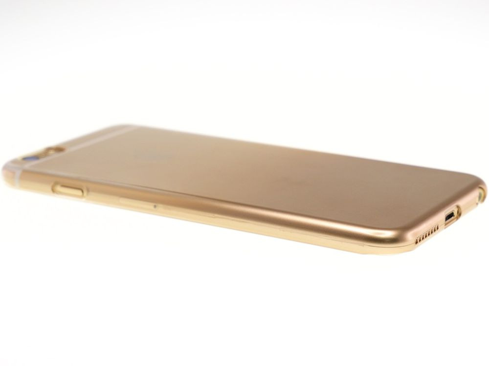 Air Jacket for iPhone 6s Plus/6 Plus Gradation Gold side