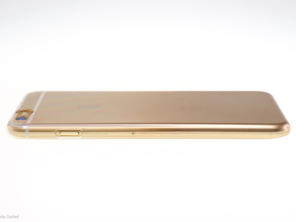 Air Jacket for iPhone 6s/6 Gradation Gold side