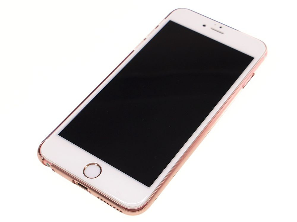 Air Jacket for iPhone 6s/6 Gradation Rose Gold front