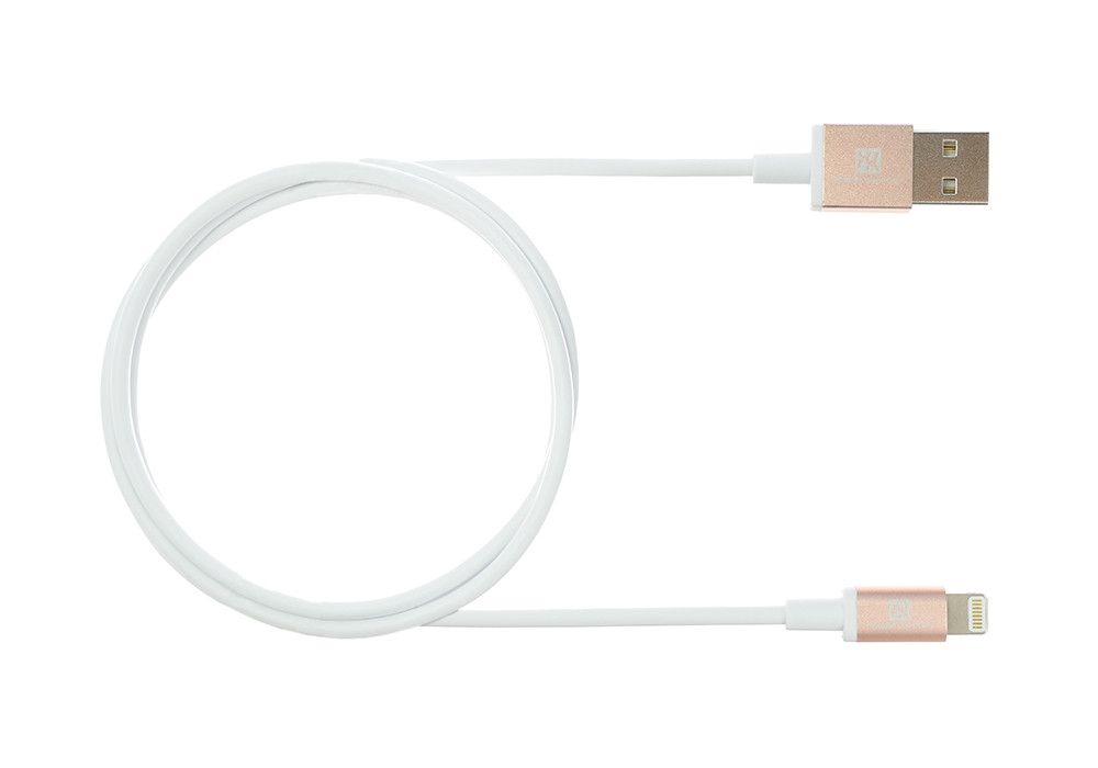 Rose Gold USB Lightening Cable 1.5m