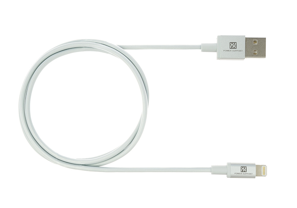 Silver USB Lightening Cable 1.5m