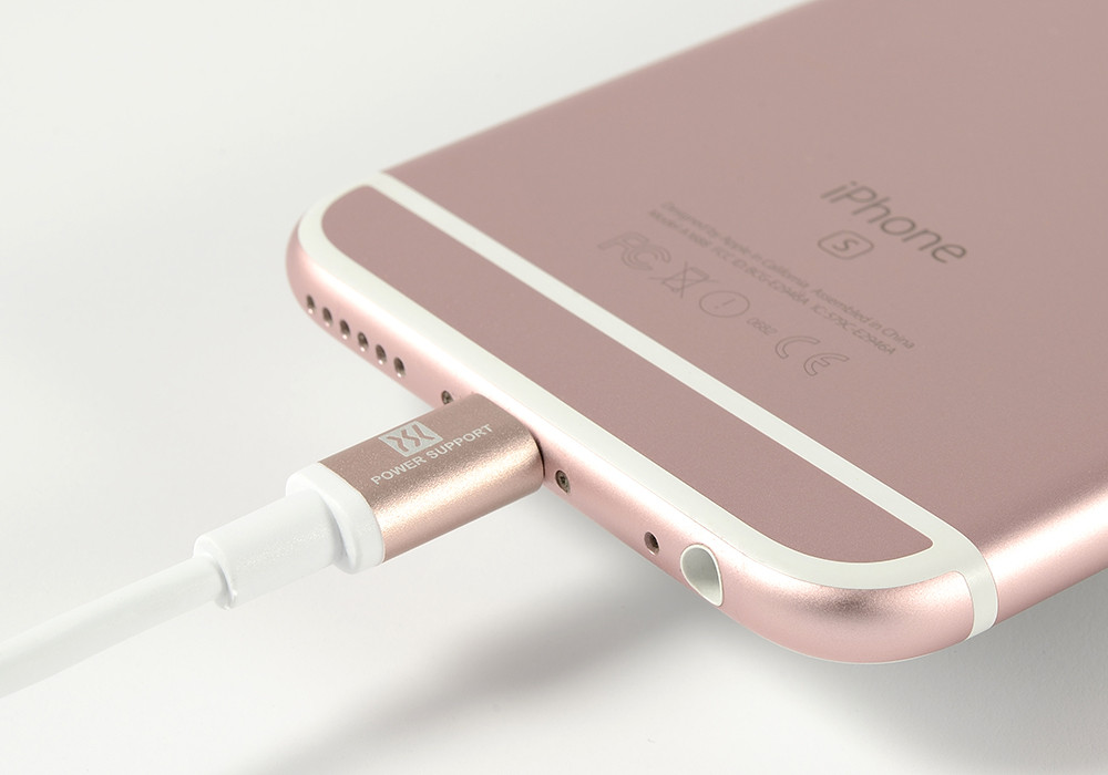 Rose Gold Lightening connector