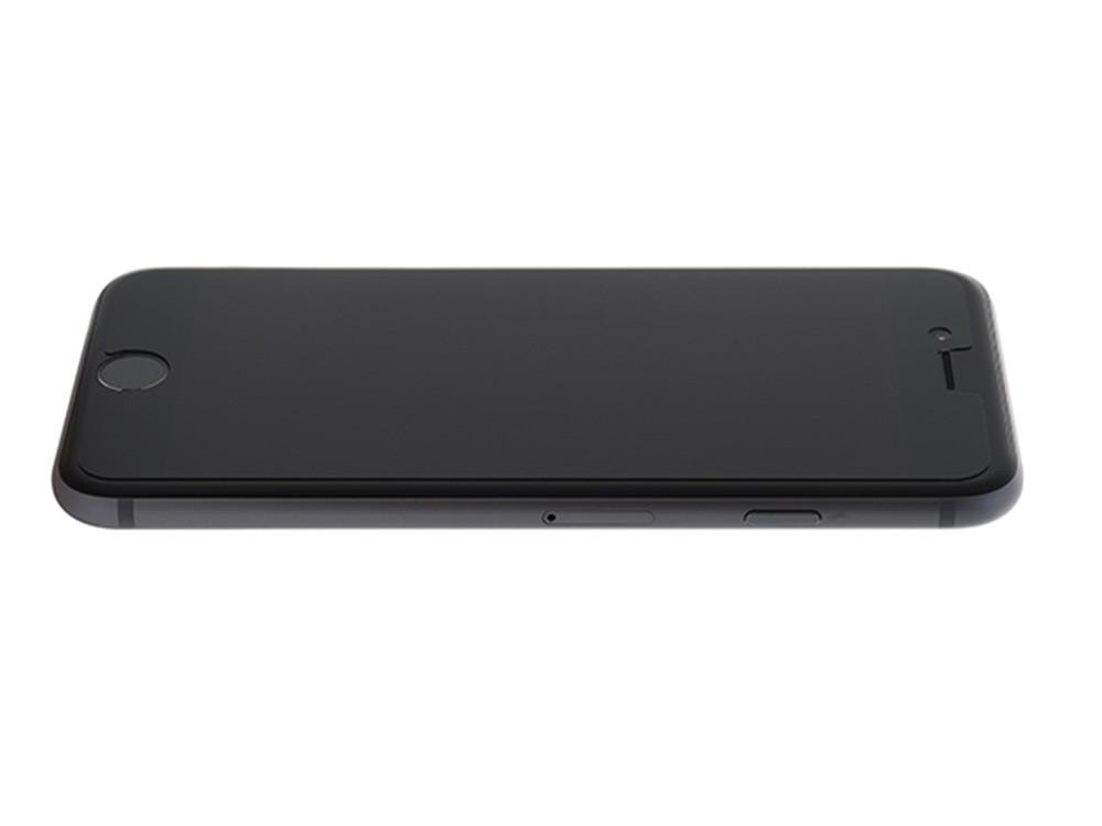 Anti-Glare Hybrid Screen Protector Film on an iPhone 6
