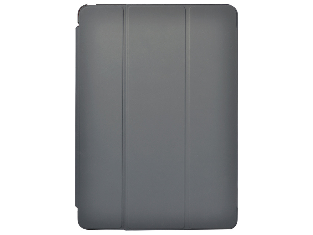 Air Jacket for iPad Pro 9.7 inch – Rubberized Black - Front with optional Smart Cover