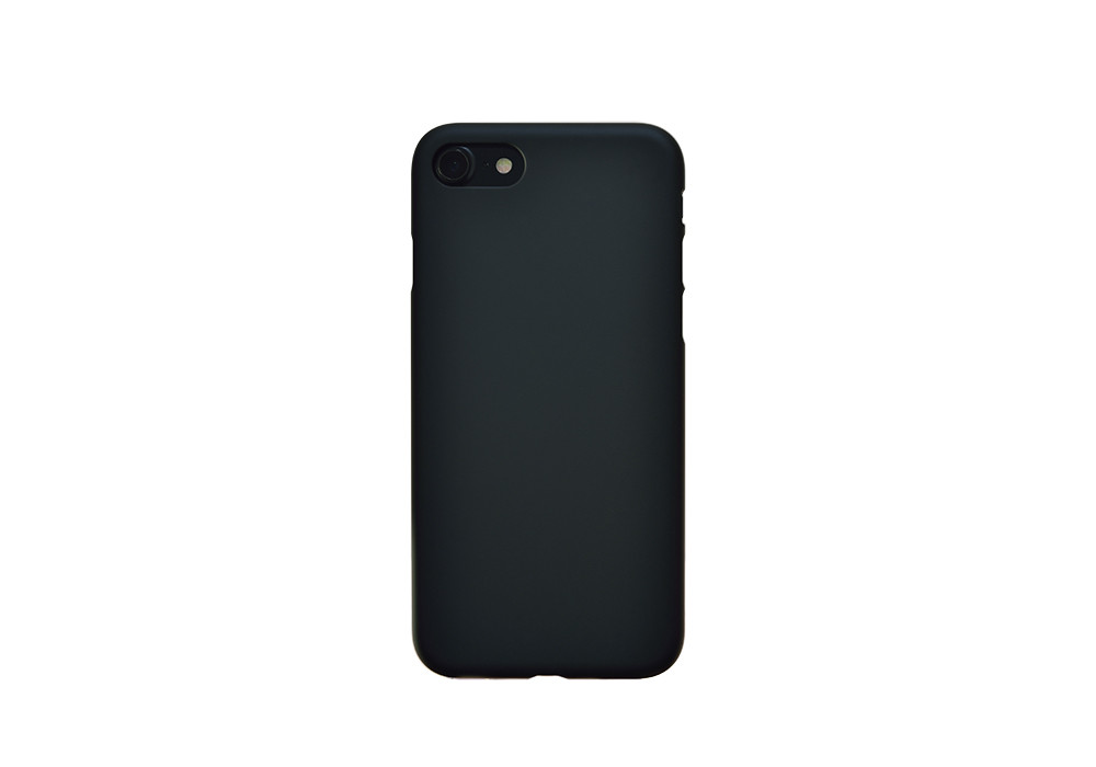 Air Jacket for iPhone 7 Rubber Black on  black iPhone 7