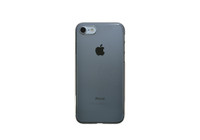 Air Jacket for iPhone 7 Clear Black on silver iPhone 7