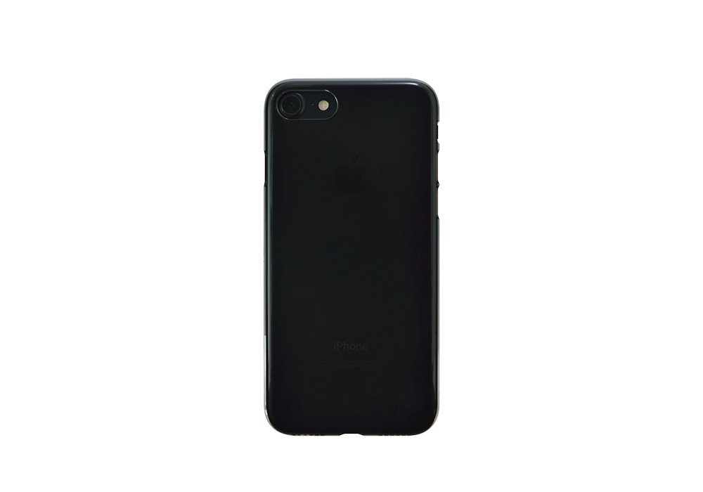 Air Jacket for iPhone 7 Clear Black on black iPhone 7