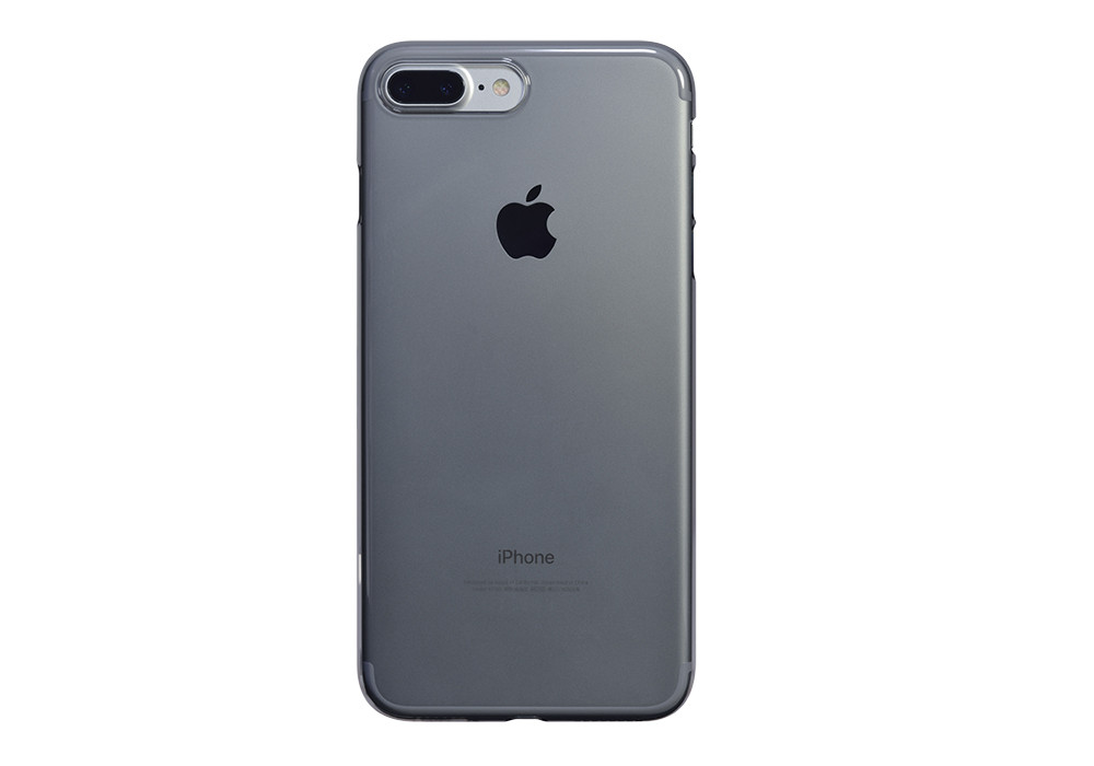 iphone 7 plus silver matte black air jacket for iphone plus clear black on silver