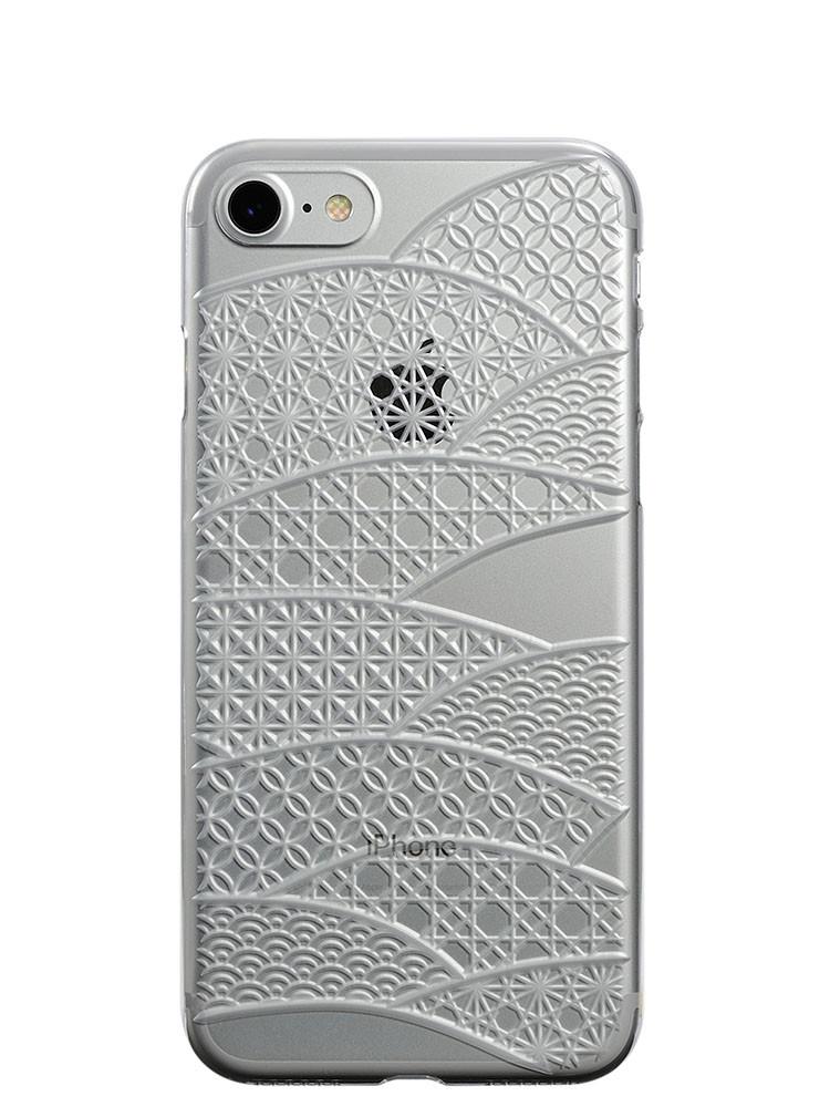 Air Jacket KIRIKO for iPhone 7 Folding Fan Clear