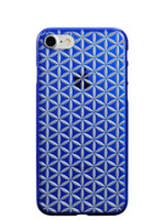 Air Jacket KIRIKO for iPhone 7 Hemp Blue
