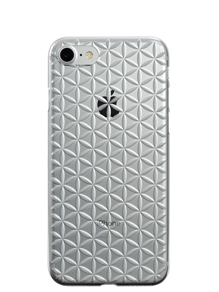 Air Jacket KIRIKO for iPhone 7 Hemp Clear