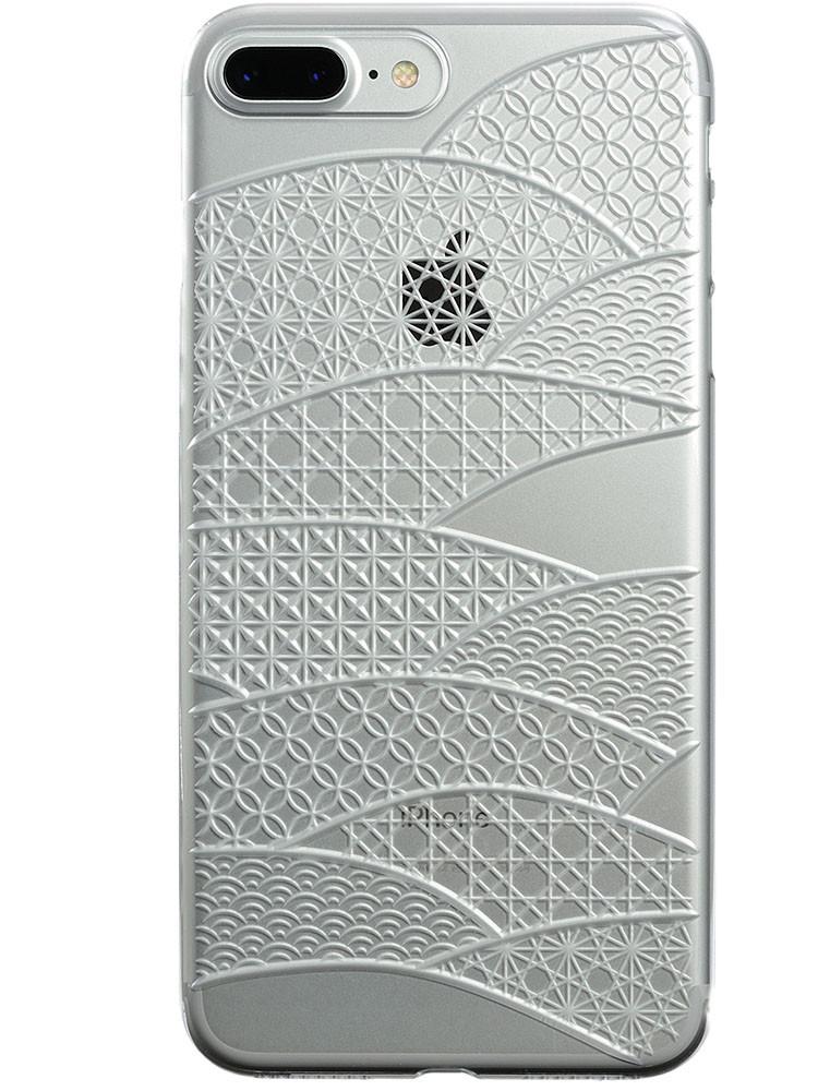 Air Jacket KIRIKO for iPhone 7 Plus Folding Fan Clear