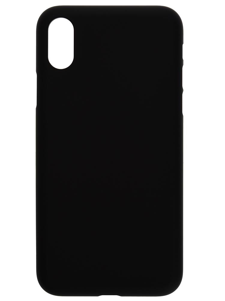 Rubber Black Air Jacket for the iPhone X- case, no phone