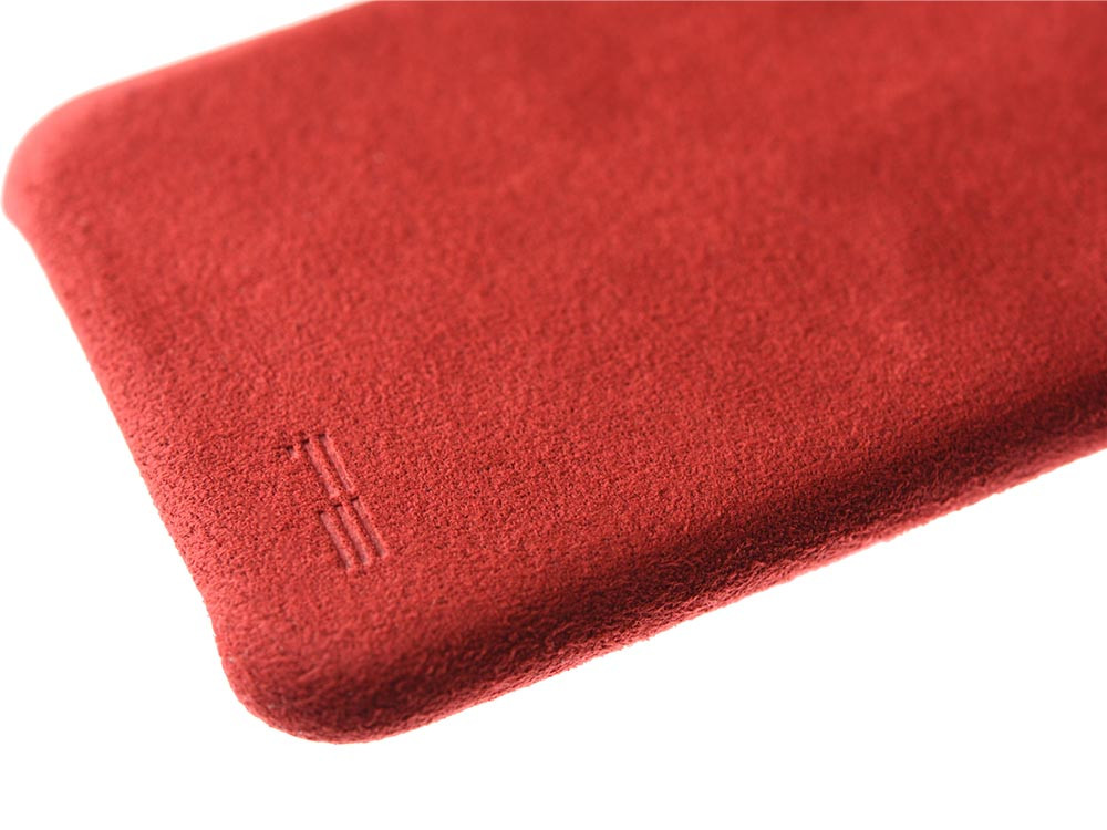 Ultrasuede Air Jacket for iPhone X Red