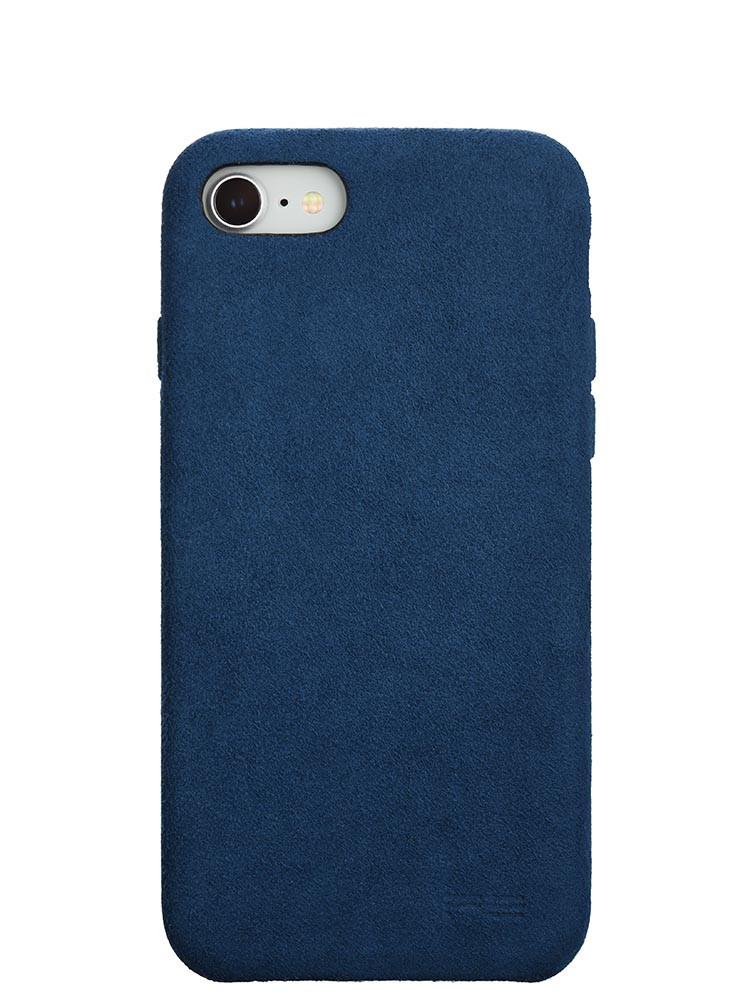 Ultrasuede Air Jacket for iPhone 8 Back Blue