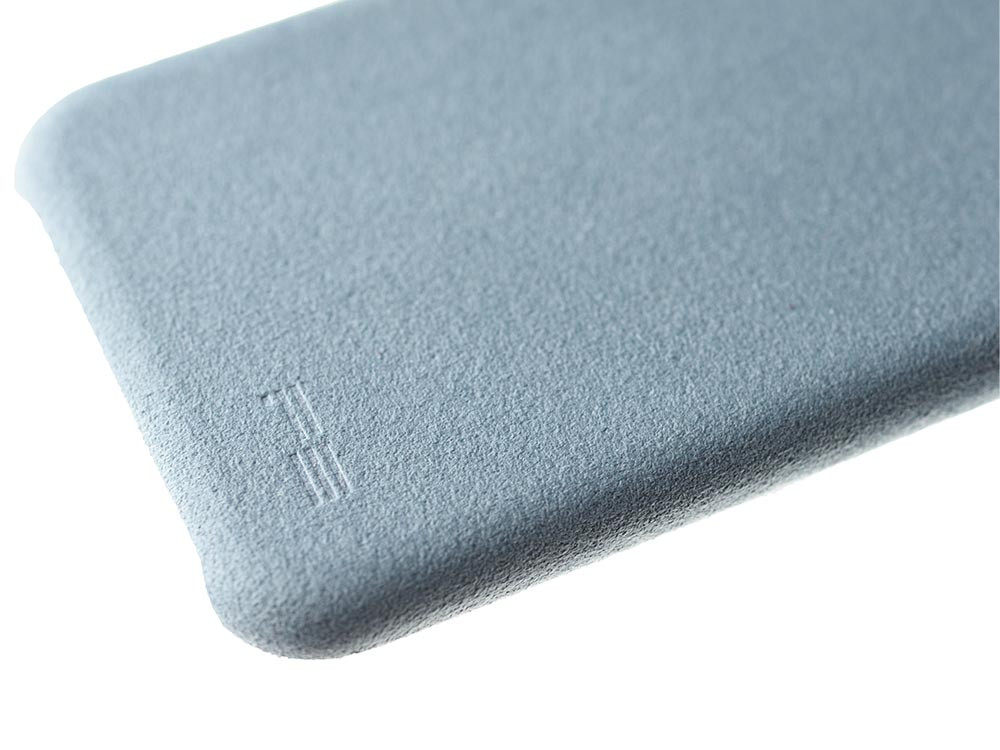 Ultrasuede Air Jacket for iPhone 8 Detail Sky