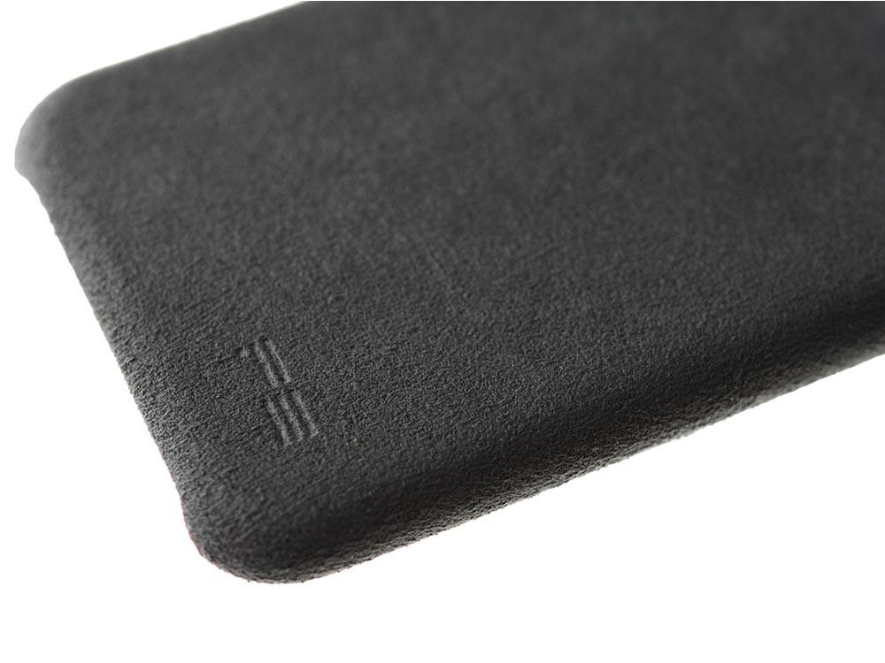 Ultrasuede Air Jacket for iPhone 8 Detail Asphalt