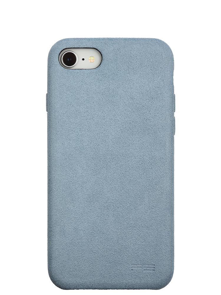 Ultrasuede Air Jacket for iPhone 8 Back Sky