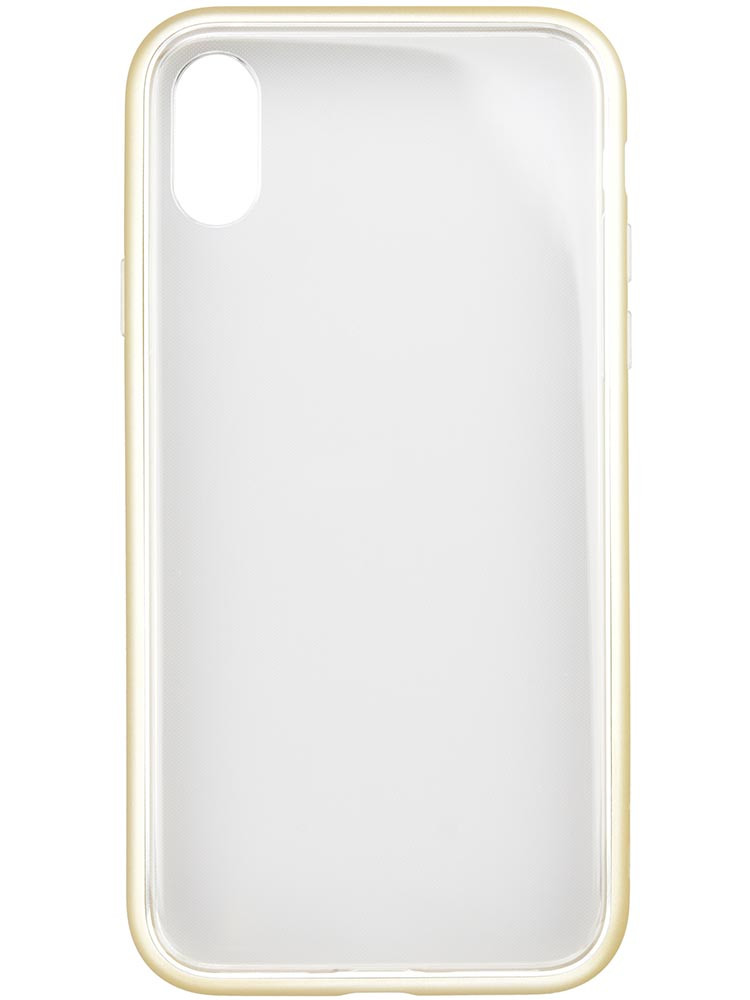Shock Proof Air Jacket for iPhone X Rubber Gold