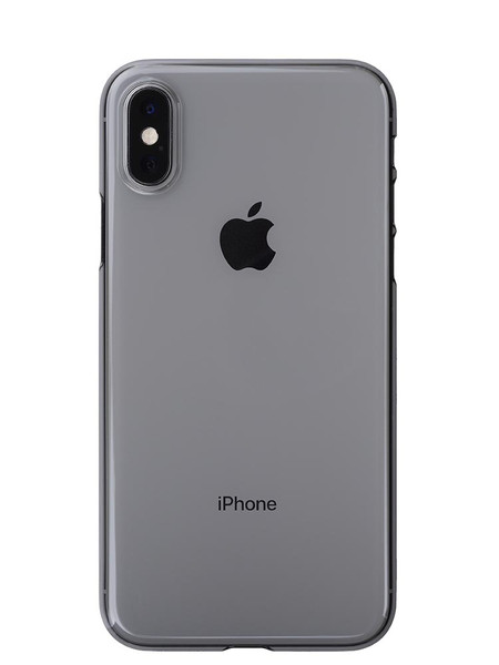 Air Jacket for iPhone XS Clear Black