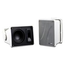 KICKER KB6000 Full-Range Indoor/Outdoor Speakers - White