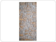 Fieldstone Wall (Unpainted Black)