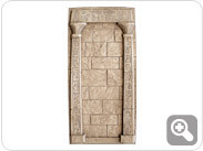 Egypt Wall with Columns (Unpainted Black)