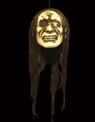 Hector the White Faced Severed Head Halloween Prop