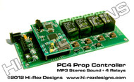 Relay Prop Controller 4 Outputs w/MP3