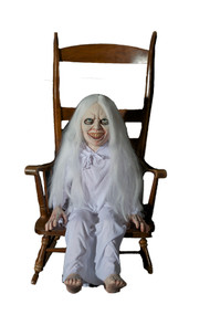 Ghost Girl Latex Animated Prop -