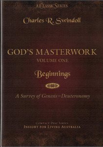 God's Masterwork, Vol 1: Beginnings - A Survey of Genesis to Deuteronomy.  6 CD Series