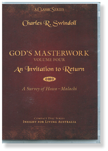 God's Masterwork, Vol 4: An Invitation to Return - A Survey of Hosea - Malachi.   12 CD Series