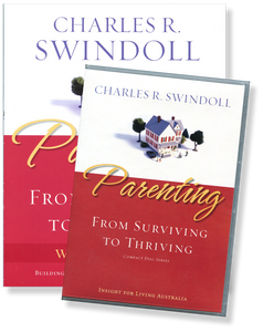 Parenting: From Surviving to Thriving.   12 CD Series & Wookbook